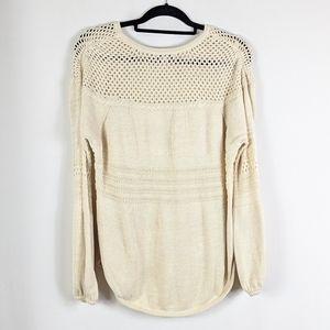Knox Rose Sweaters - Knox Rose Cream Knit Sweater